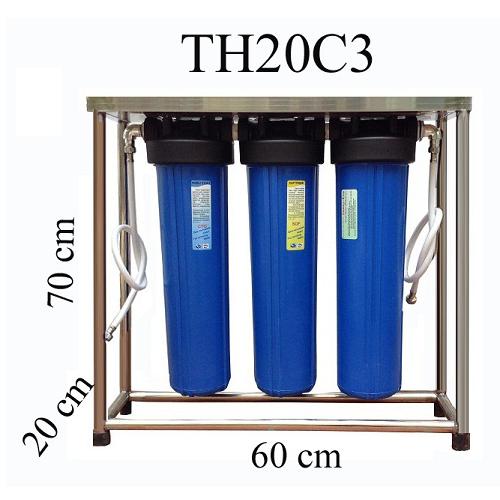 Máy lọc nước sinh hoạt tổng thể Sunny-Eco TH 20C3