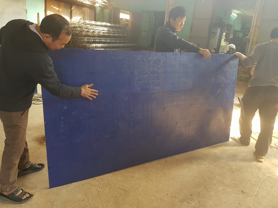 Cốp pha nhựa kết hợp khung thép SPAN - CP001