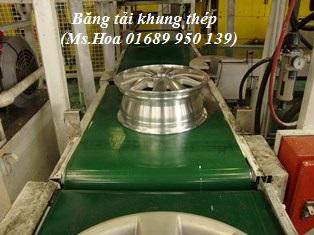 Băng tải PVC khung thép