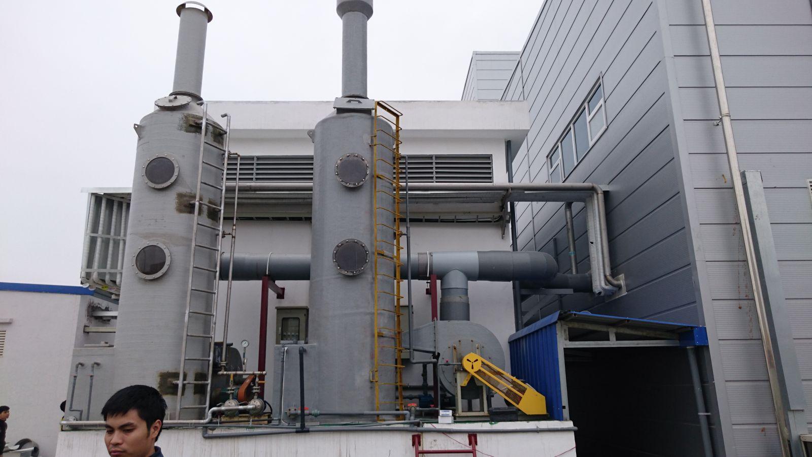 Giải pháp xử lý khí thải chi phí hiệu quả - Wet Scrubber