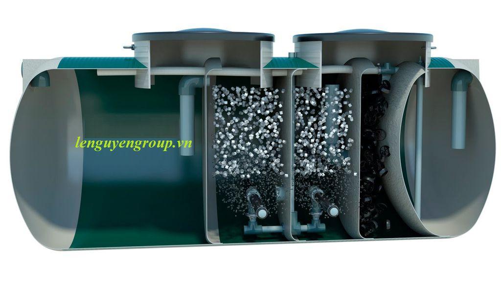 Công nghệ xử lý nước thải sinh hoạt kết hợp cả 3 phương pháp cơ học - hóa lý - sinh học