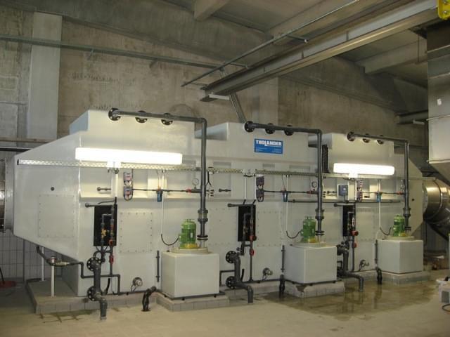 Hệ thống lọc ẩm đa giai đoạn - Multi-stage Scrubber