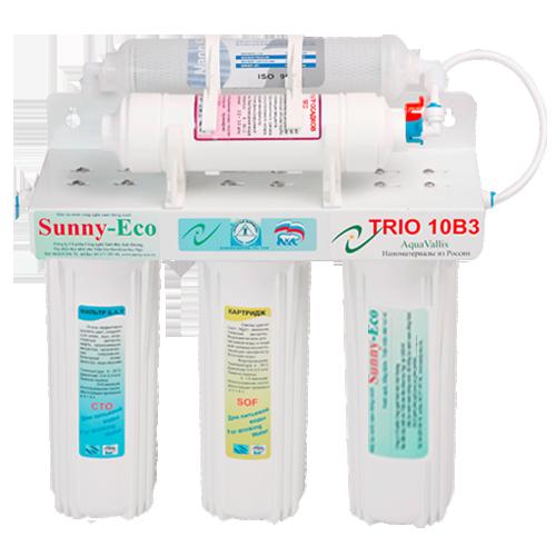 Máy lọc nước nano Trio 10B3 - Dùng cho gia đình