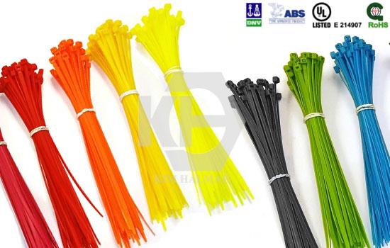 Dây rút nhựa (lạt nhựa) Đài Loan, đủ màu, đủ kích cỡ