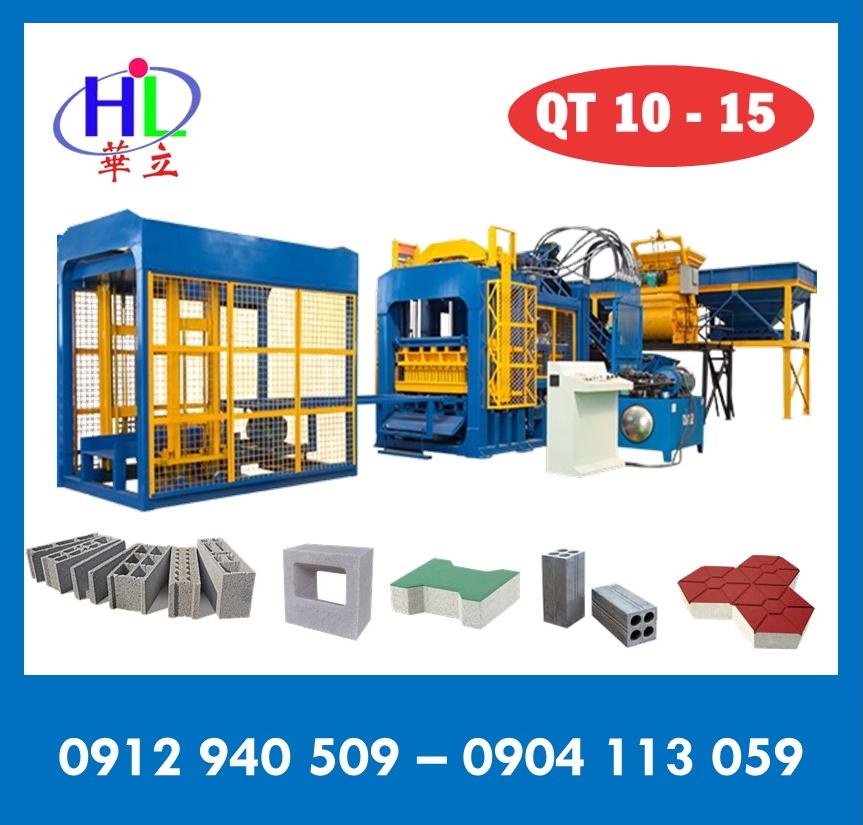 Dây chuyền sản xuất gạch không nung QT10