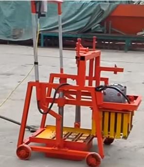 Máy sản xuất gạch không nung mini