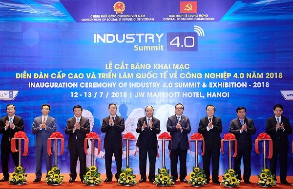 Diễn đàn cấp cao và Triển lãm quốc tế về công nghiệp 4.0 – Industry Summit 2018