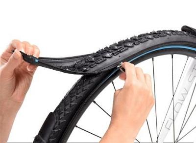 Hệ thống lốp xe reTyre có thể dễ dàng thay thế với các mô hình vỏ lốp khác nhau