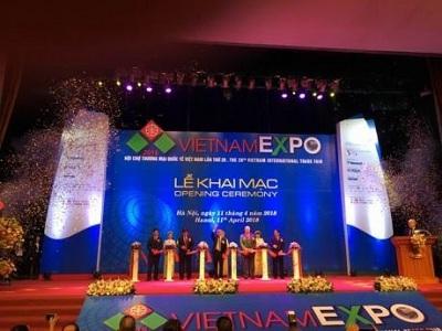 Khai mạc Hội chợ Thương mại Quốc tế Việt Nam lần thứ 28 - VIETNAM EXPO 2018